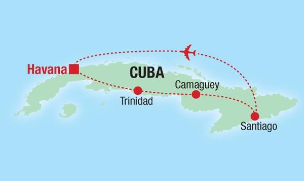 Cuban Salsa - Karte